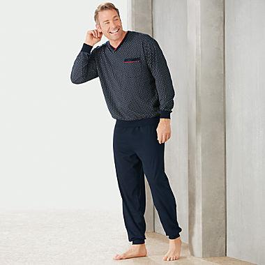 Götzburg Single-Jersey Herren-Schlafanzug