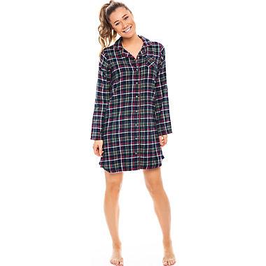 Rebelle Flanell Damen-Nachthemd