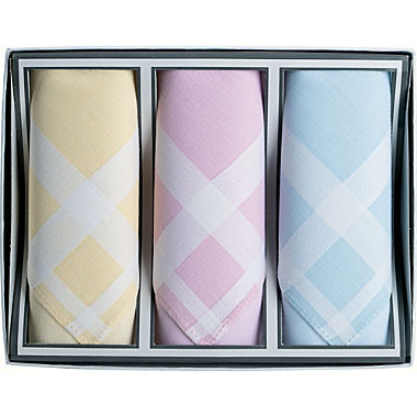 Damen-Taschentücher im 3er-Pack