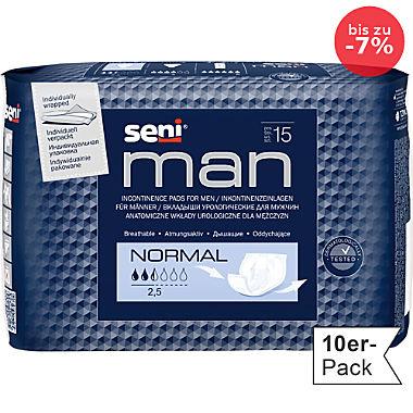 Seni Inkontinenz-Einlage 10er-Pack für Herren