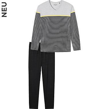 Schiesser Single-Jersey Herren-Schlafanzug