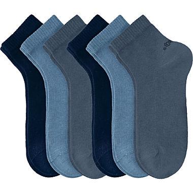 s.Oliver Unisex Quarter-Socken im 6er-Pack