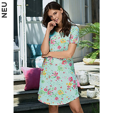 Ringella Single-Jersey Damen-Nachthemd