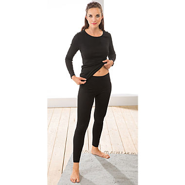 Mey Feinripp Damen-Unterhose, lang