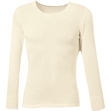 Angora Unisex-Unterhemd, langarm