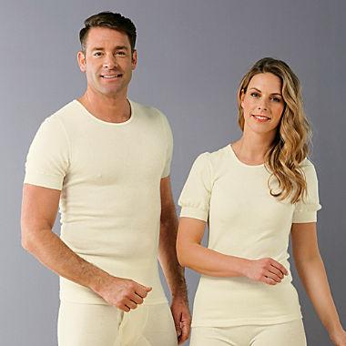 Angora Unisex-Unterhemd, 1/2-Arm