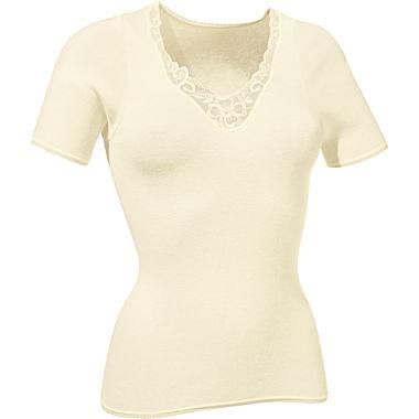 Angora Damen-Unterhemd, 1/2 Arm