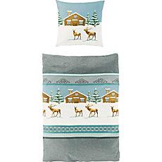 Bierbaum cotton flannel duvet cover set