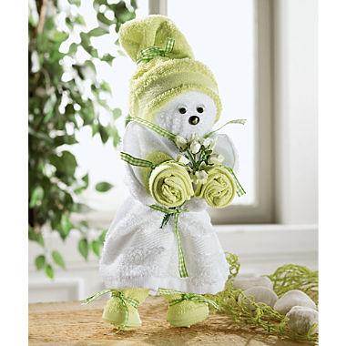 Towel gift set, puppet