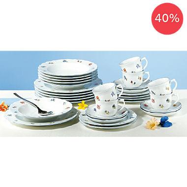 Seltmann Weiden 30-pc combi-tableware set