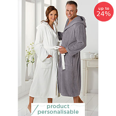 Erwin Müller hooded bathrobe, Heidelberg