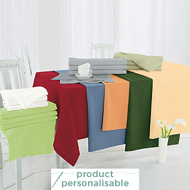 Sander stain resistant tablecloth