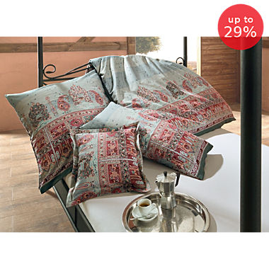 Bassetti Egyptian cotton sateen duvet cover set