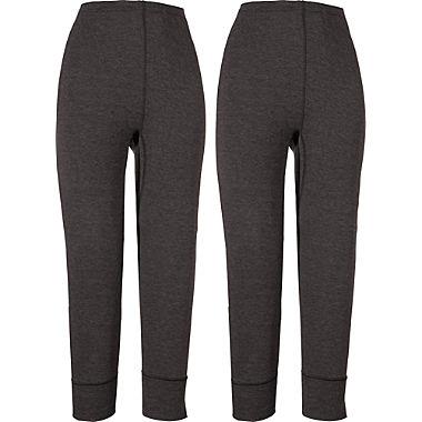 2-pack women's cropped underwear bottoms 3/4 length