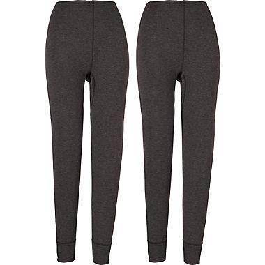 2-pack women's long underwear bottoms