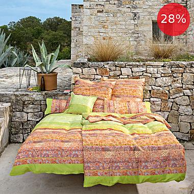Bassetti Egyptian cotton sateen duvet cover set Montalcino V2