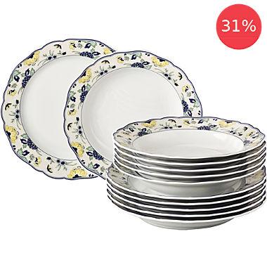 Hutschenreuther 12-piece tableware set
