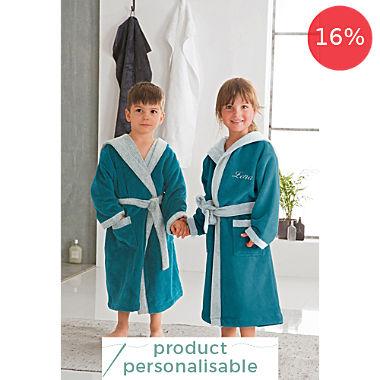 Erwin Müller kids hooded bathrobe