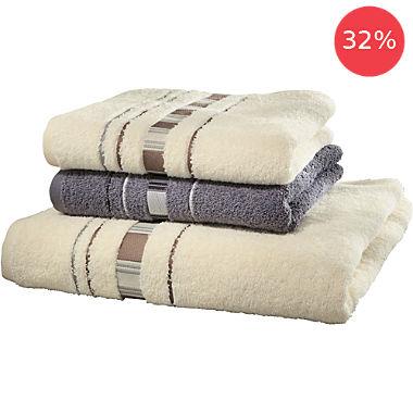 Erwin Müller 3-pc towel set