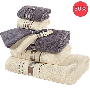 Erwin Müller 7-pc towel set