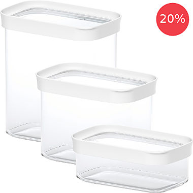 Emsa 3-pc food storage container set