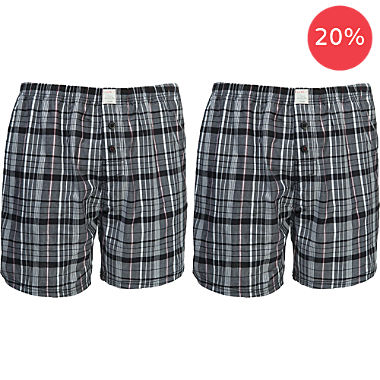 ESPRIT 2-pack men's boxer shorts
