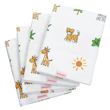 Pack of 4 Baby Butt molleton squares