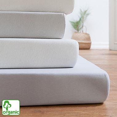 Estella organic cotton fitted sheet