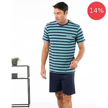 Erwin Müller single jersey men´s short pyjamas