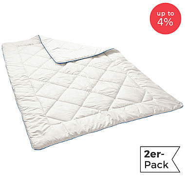 Irisette 2-pack quilted duvets