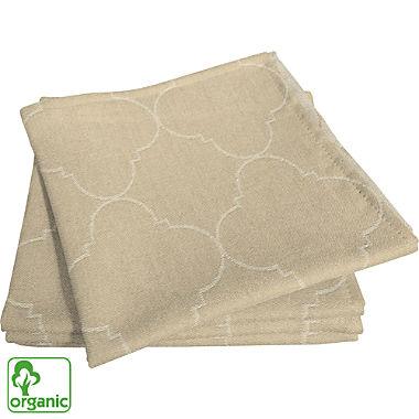 Adam  4-pack organic cotton napkins