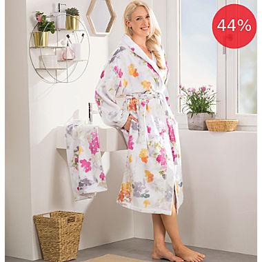 Erwin Müller women's hooded bathrobe