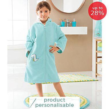 Erwin Müller cotton velour children´s bathrobe