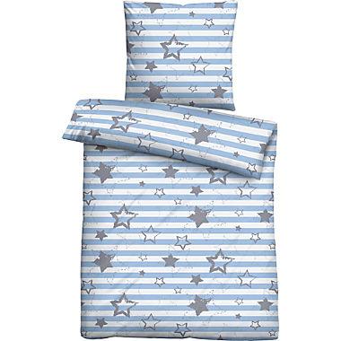 Biberna cotton flannel kids duvet cover set