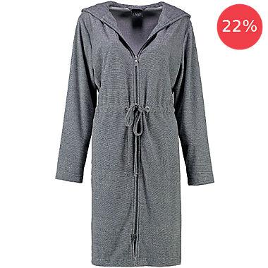 Cawö Home women's hooded bathrobe