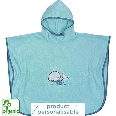 Wörner kids organic cotton hooded poncho