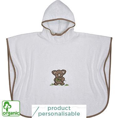 Wörner organic cotton kids hooded poncho