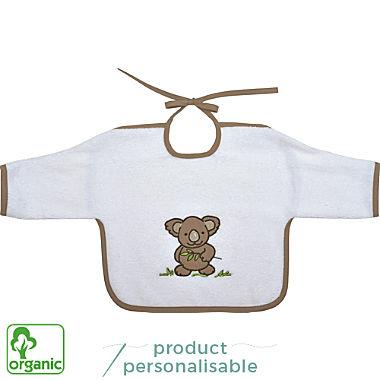 Wörner organic cotton bib with sleeves
