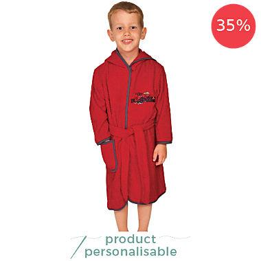 Wörner kids hooded bathrobe
