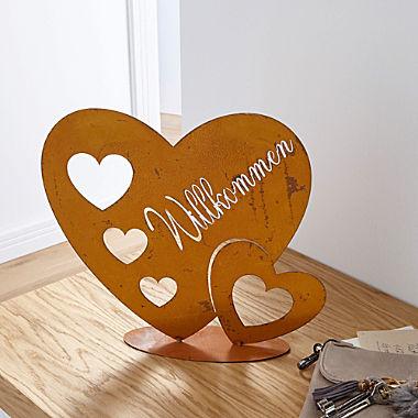 metal decoration heart