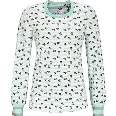 Bloomy single jersey women's long sleeve top