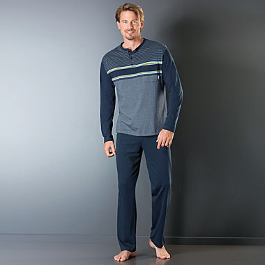 Hajo Klima-Light single jersey men´s pyjamas