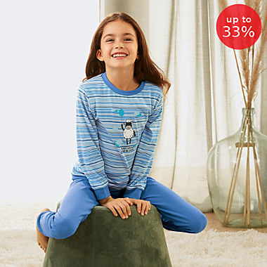 Erwin Müller single jersey children´s pyjamas