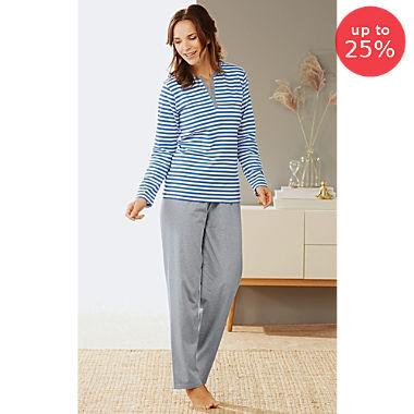 Erwin Müller single jersey women´s pyjamas