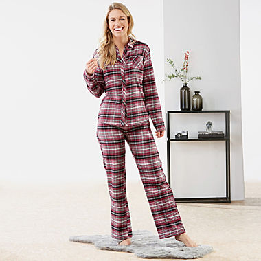 ESPRIT cotton flannelette women´s pyjamas