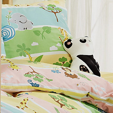 Erwin Müller cotton flannelette kids duvet cover set