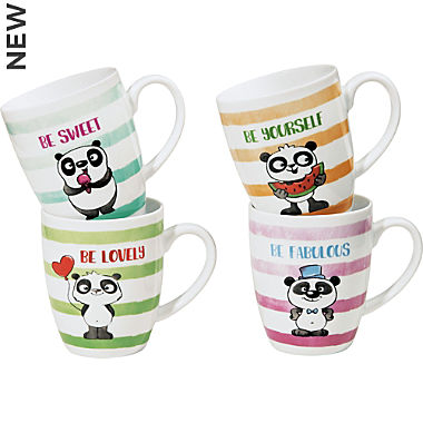 Gepolana 4-pack coffee mugs