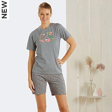 Erwin Müller single jersey women short pyjamas