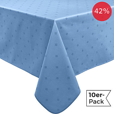 Erwin Müller wipe-clean 10-pack tablecloths