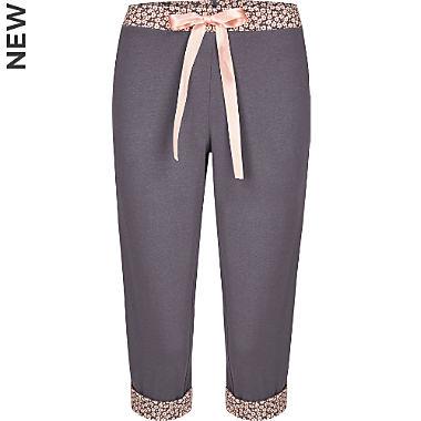 Bloomy single jersey women's Capri pants